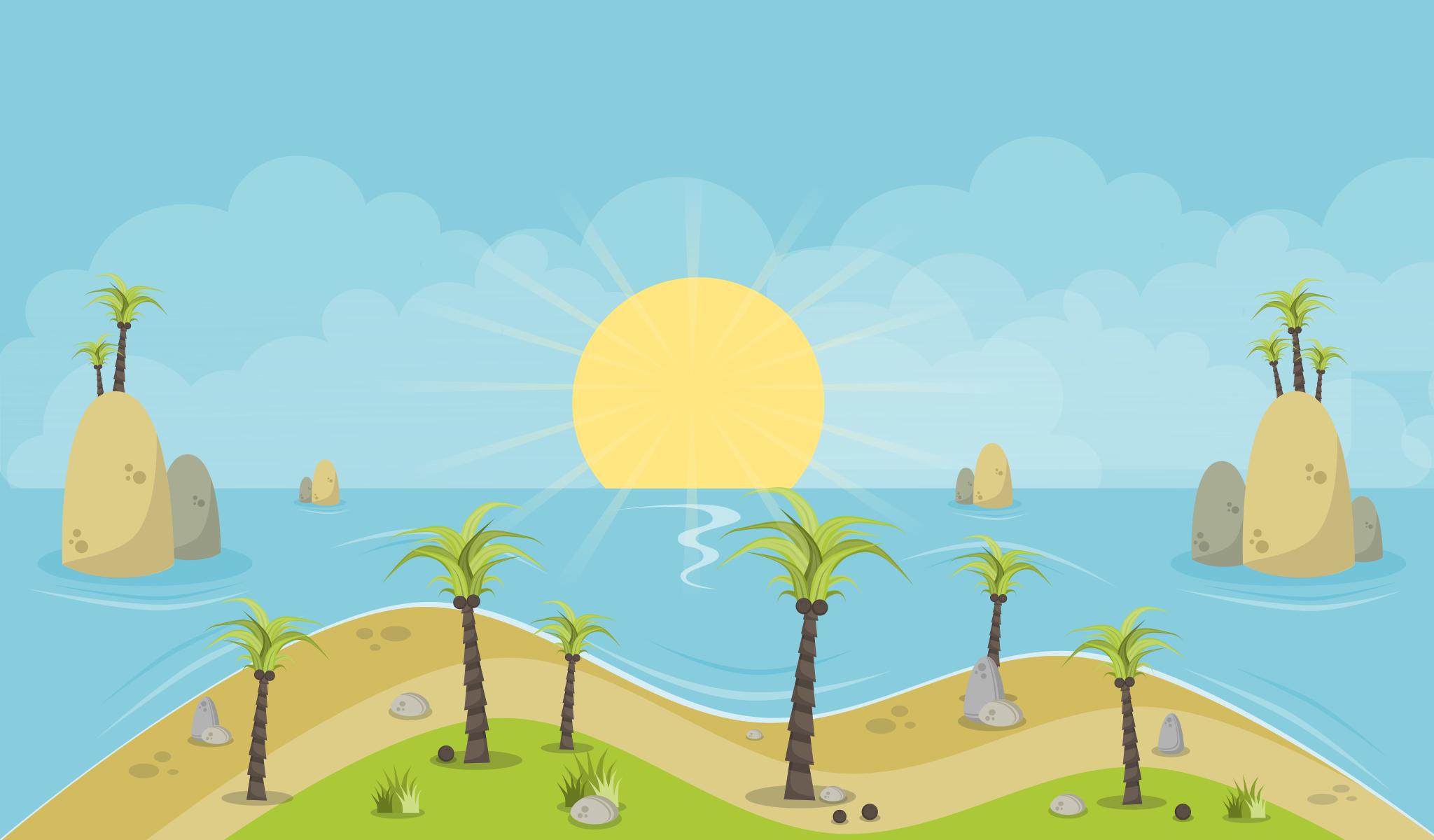 Free to Use & Public Domain Island Clip Art.