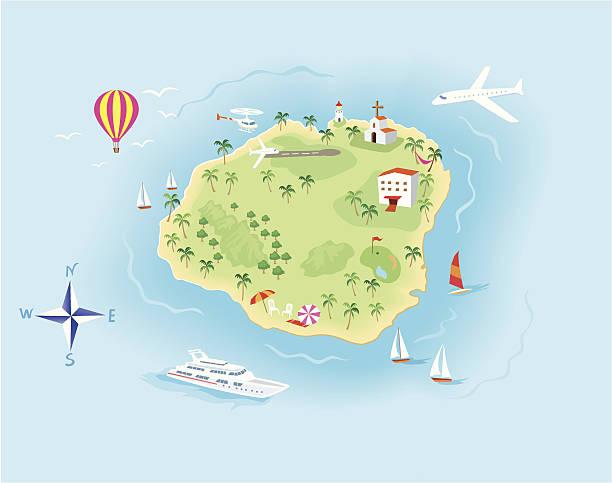 Kauai Hawaii Clip Art, Vector Images & Illustrations.