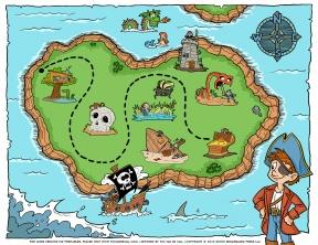 Treasure Map Clipart.