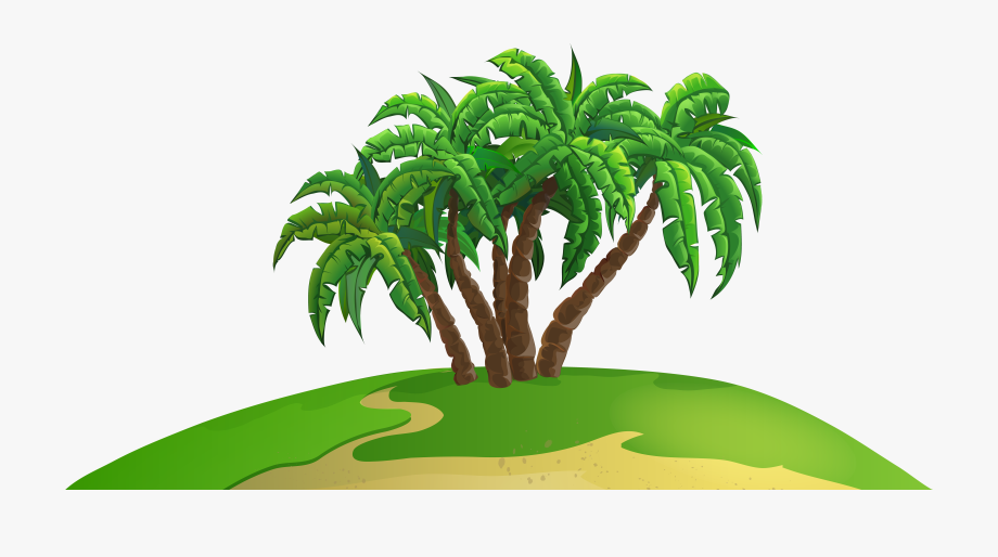 Tropical Island Clipart Png.