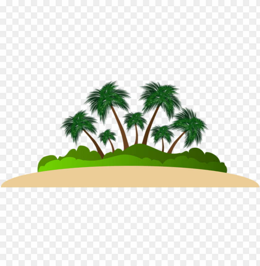 Download palm island clipart png photo.