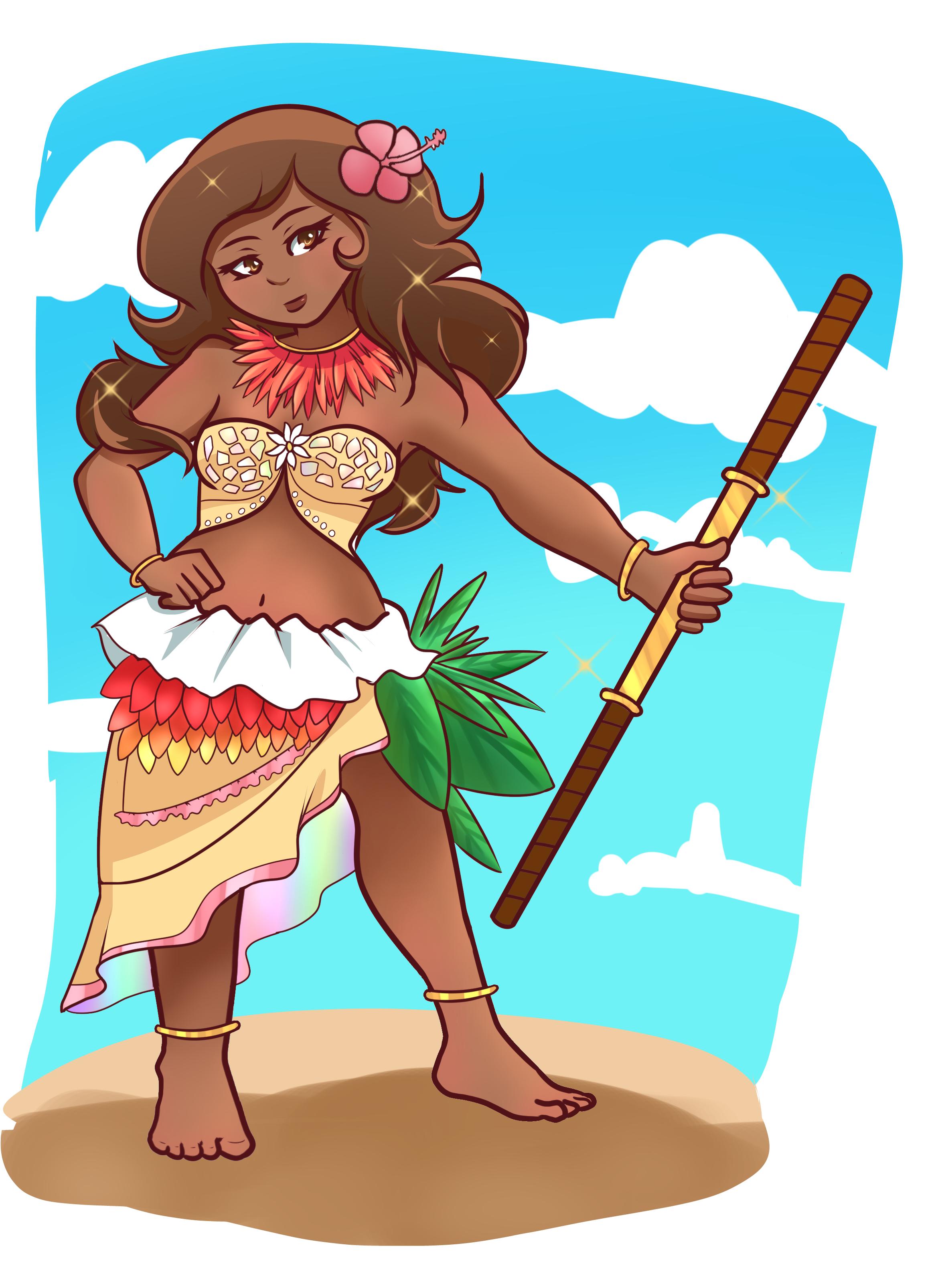 Magical Island Girl by Sukaaretto on Newgrounds.