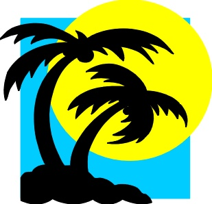 Free Clipart ★ Labor Day 2a summer beach vacation related clipart.