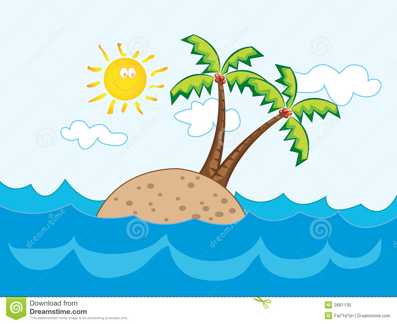 Paradise Holiday Clipart.