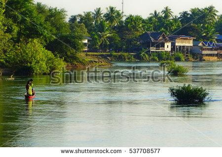 Mekong Stock Photos, Royalty.