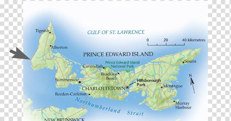 Colony of Prince Edward Island Map Geography of Prince.