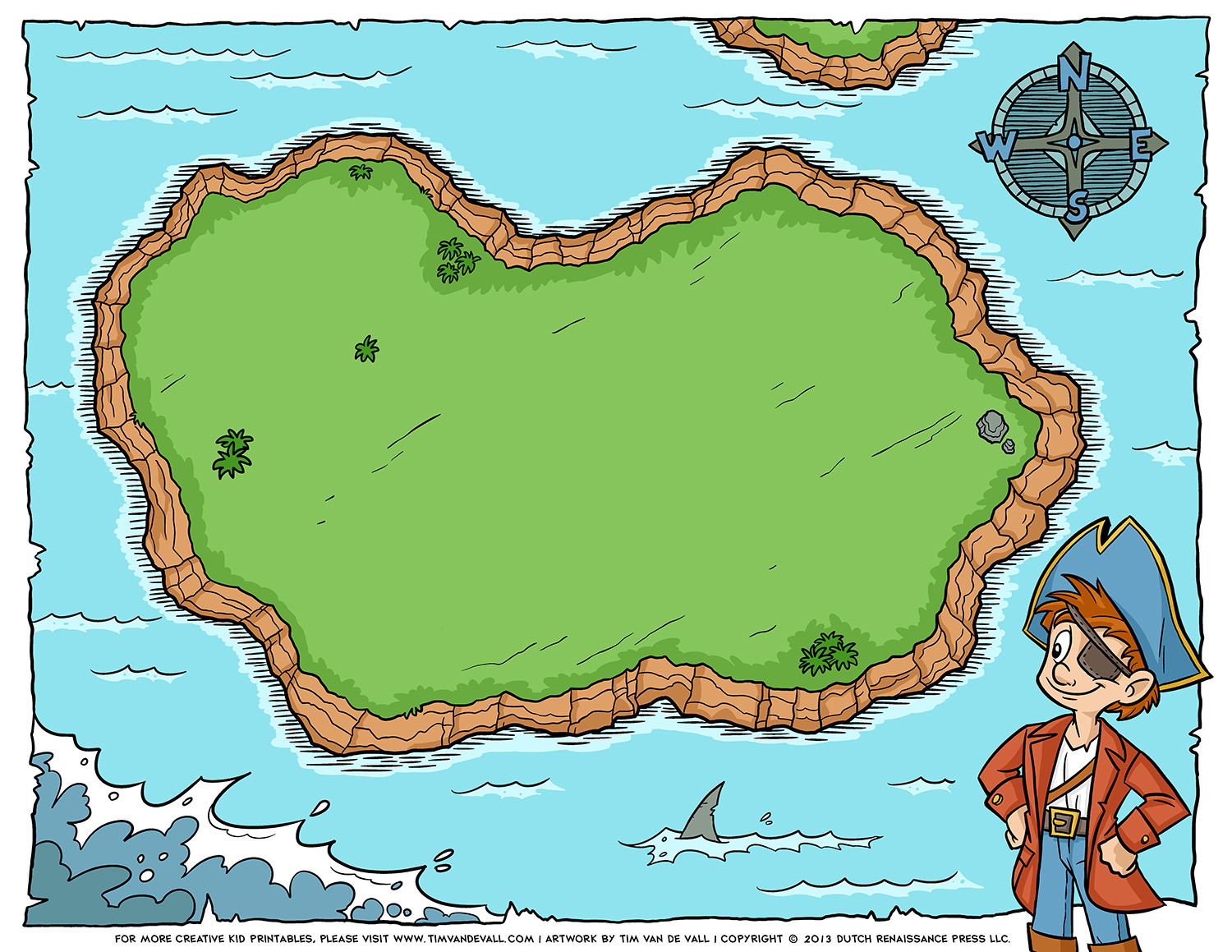 Blank Pirate Island Map Png & Free Blank Pirate Island Map.
