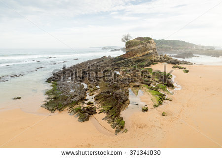 Santander Beach Stock Photos, Royalty.