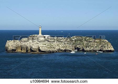 Stock Photo of Spain, Cantabria, Santander, Sea, Ocean, Atlantic.