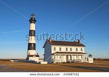 Island Lighthouses Stock Photos, Royalty.
