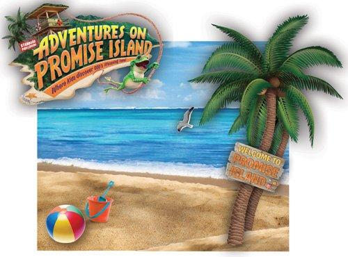 Adventure on promise island clipart.