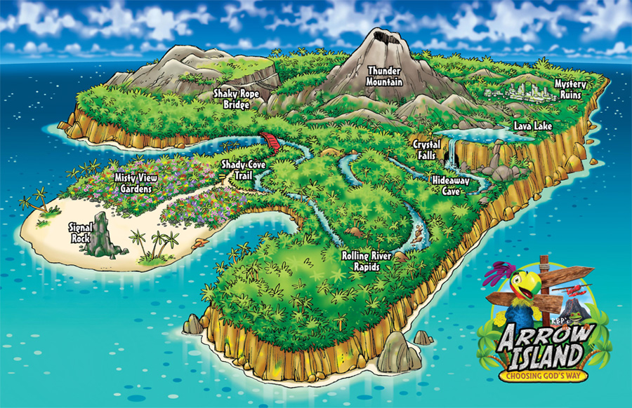 Adventure Island Isle Of Wight Map
