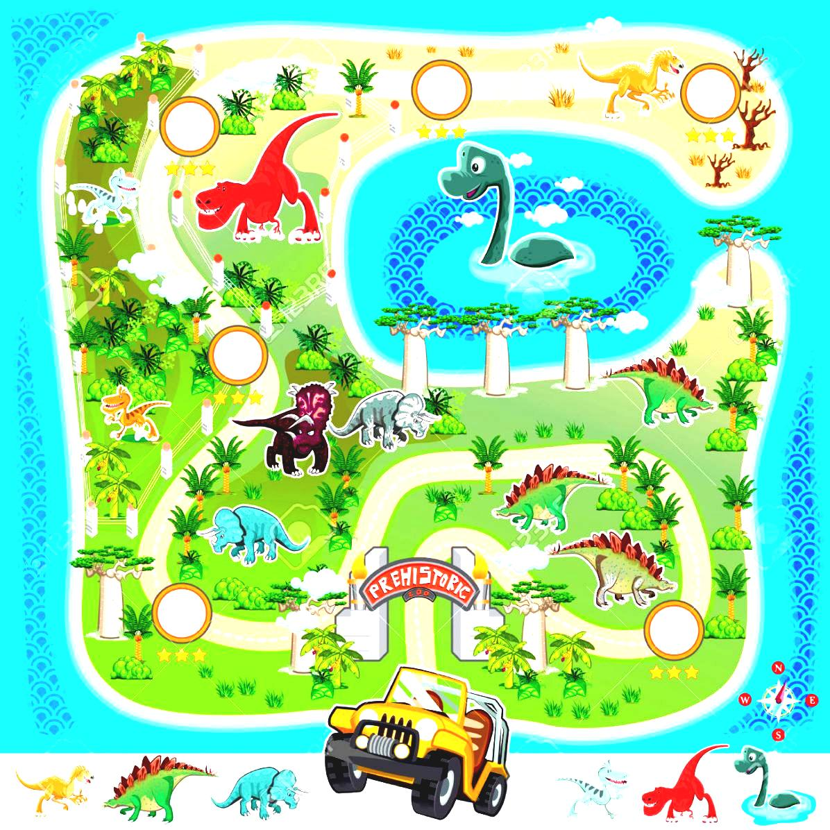 Game map island clipart.