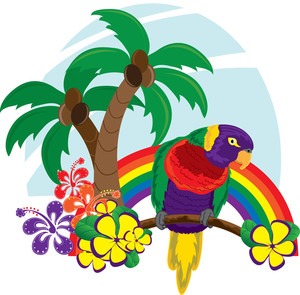 Clip art hawaii.