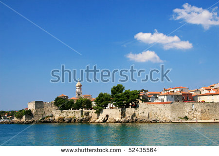 Croatia Krk Island Stock Photos, Royalty.