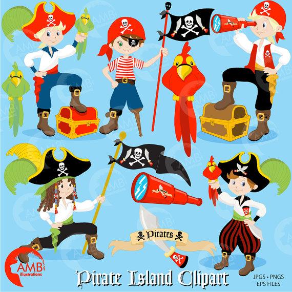 Pirate clipart, Boy Pirate, Buccaneer, Treasure Island, Pirate.
