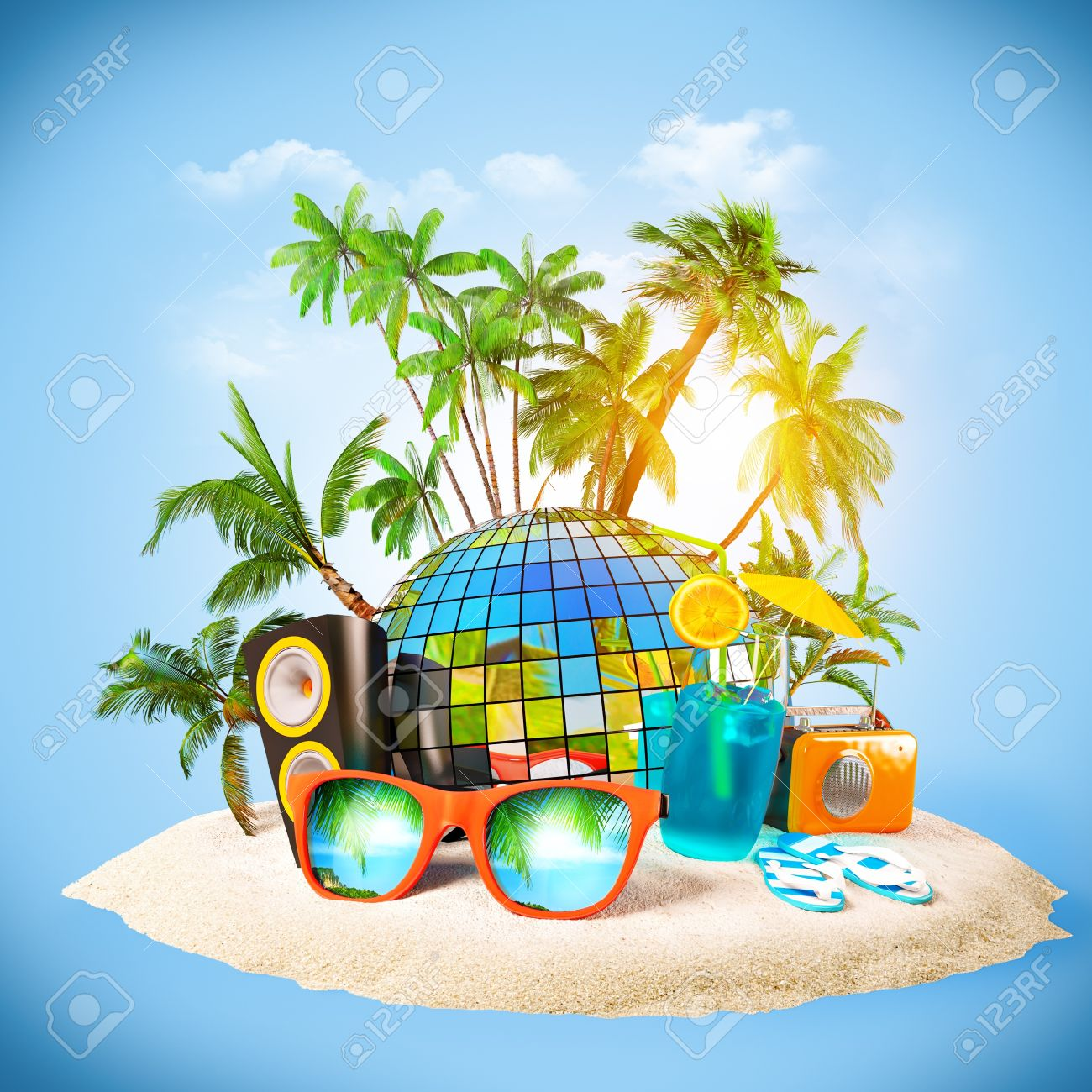 Party Island Beach: Island Party Clipart 20 Free Cliparts