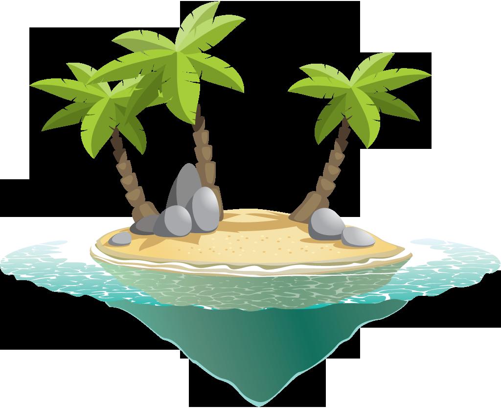 Download Island Transparent PNG.