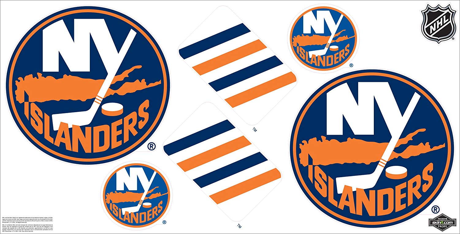 Amazon.com : NHL New York Islanders Car Decals Medium.