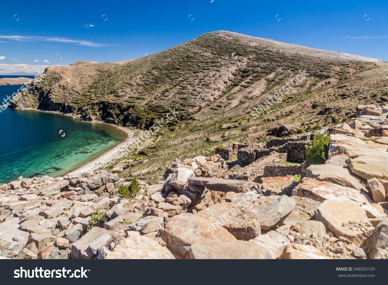 Chincana Ruins Isla Del Sol Island Stock Photo 346925159.