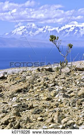 Stock Images of Isla del Sol.
