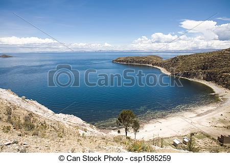 Stock Photographs of Isla del Sol.