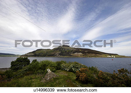 Stock Photograph of Scotland, Isle of Arran, Arran, View of Viking.