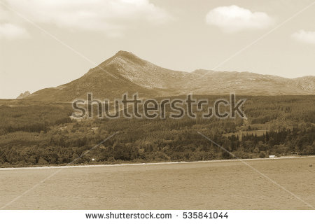 Goatfell Stock Photos, Royalty.