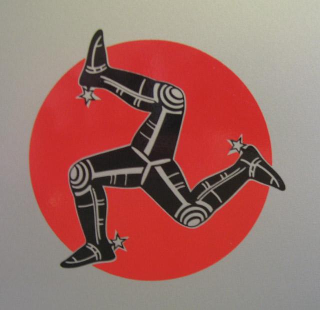 Isle of Man logo.