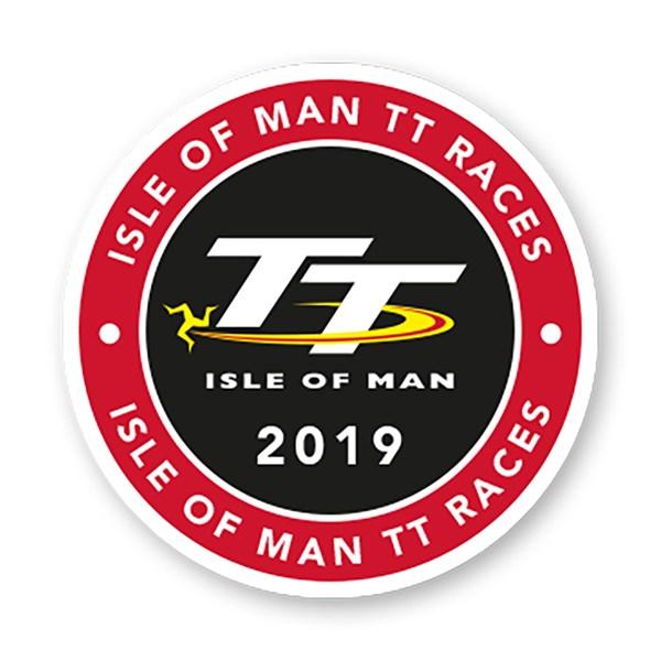 TT 2019 Logo Sticker Small.