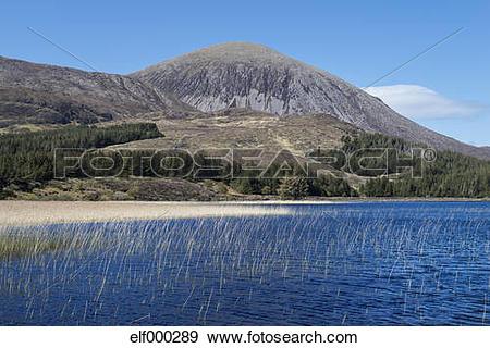 Stock Photograph of United Kingdom, Scotland, Isle of Skye, View.