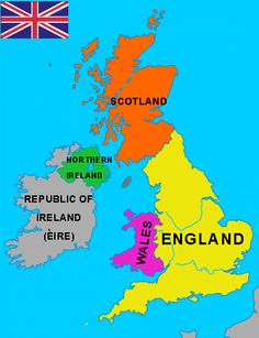 British Isles Clipart.