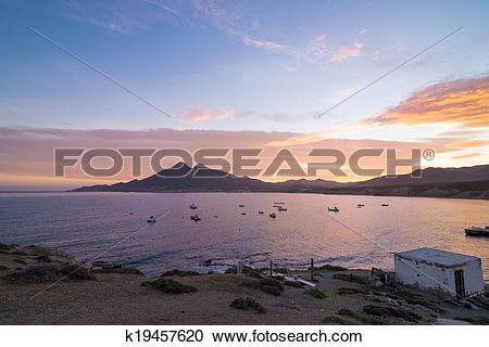 Stock Photography of Isleta del Moro bay k19457620.