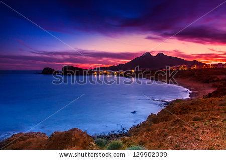 La Isleta Del Moro Coast Of The Natural Park Of Cabo De Gata.