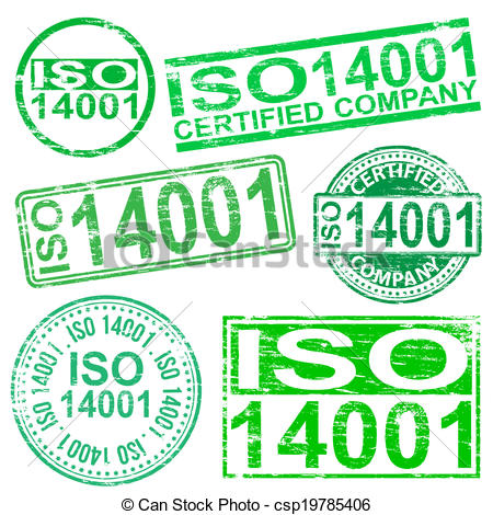 ISO 14001 Stamps.