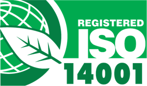 Registered ISO 14001 Green Leaf Logo Vector (.AI) Free Download.
