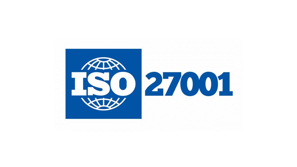 ISO 27001 logo.