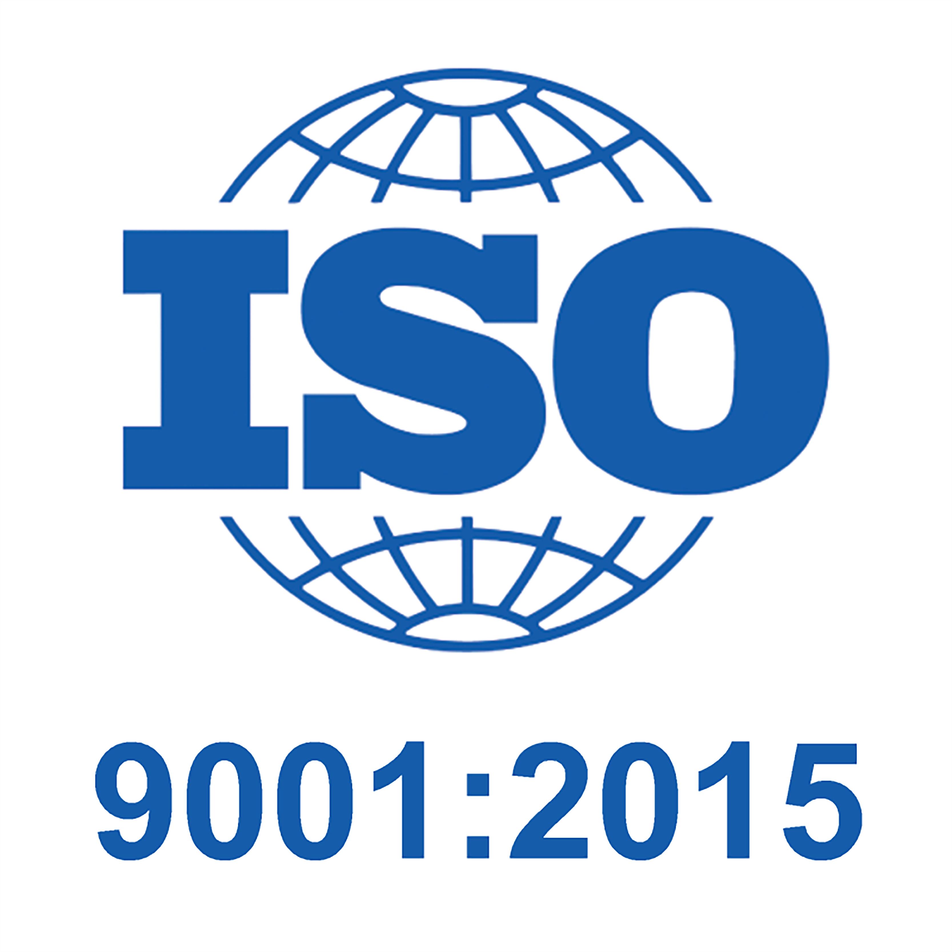 ISO 9001:2015 Logo.