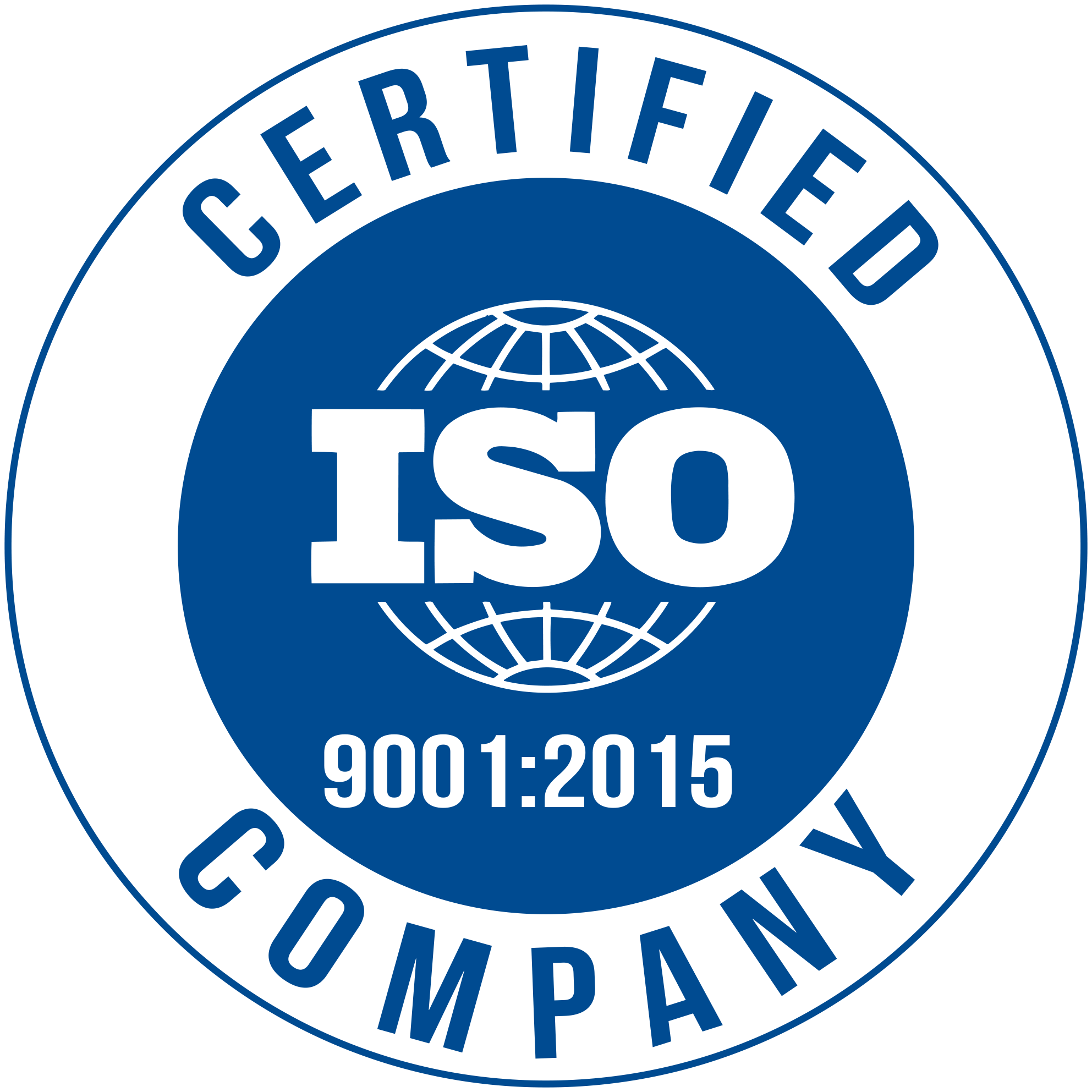 ISO 2015: 9001 Tooling Manufacturer.