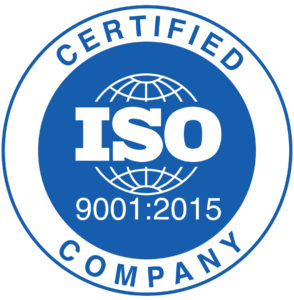 ISO9001 logo.