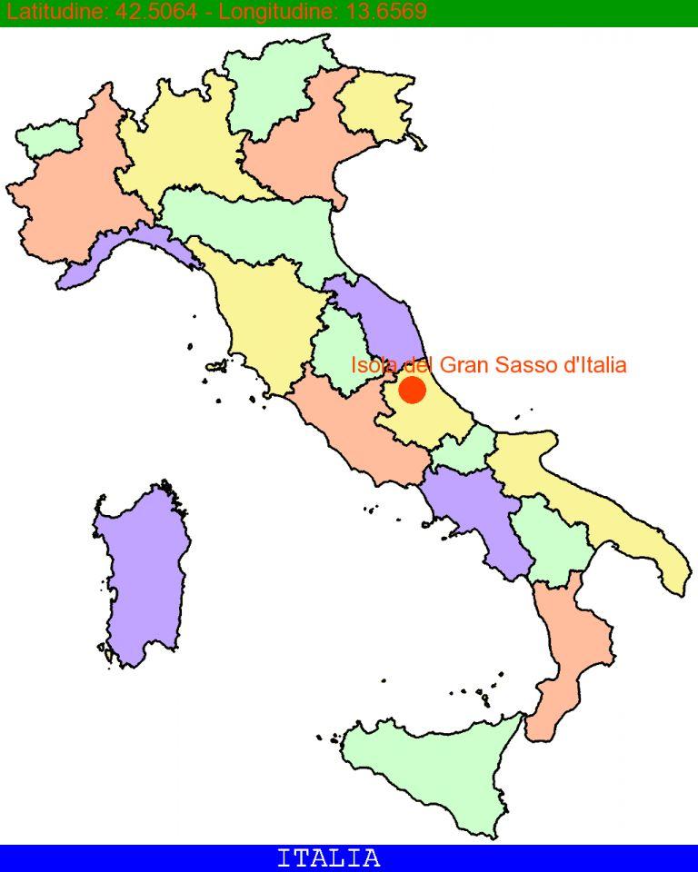 Isola del Gran Sasso d'Italia.