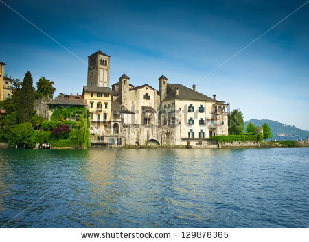 Lake Orta Stock Photos, Royalty.