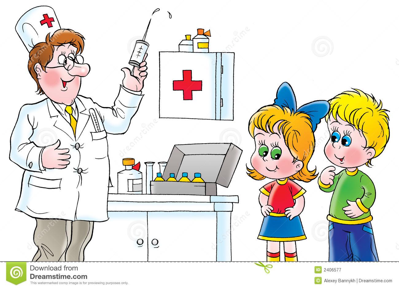 Funny Hospital Clip Art.