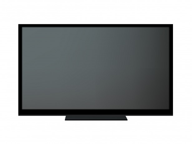 TV Isolated Background Clipart Free Stock Photo.