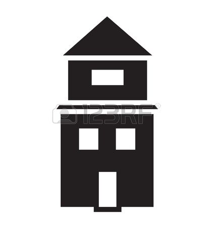 158,832 House Isolated Stock Vector Illustration And Royalty Free.