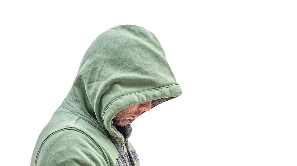 Isolated Transparent Man.