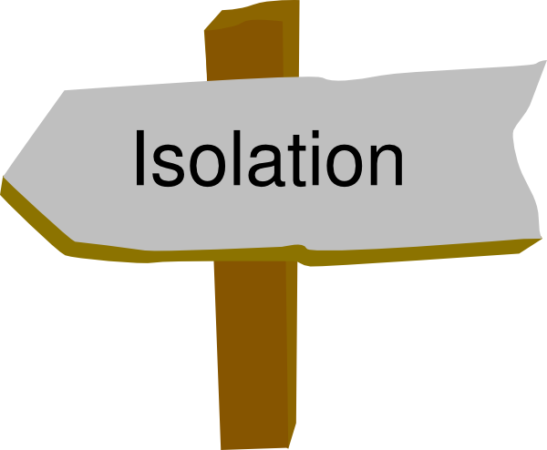 Isolation Clip Art at Clker.com.