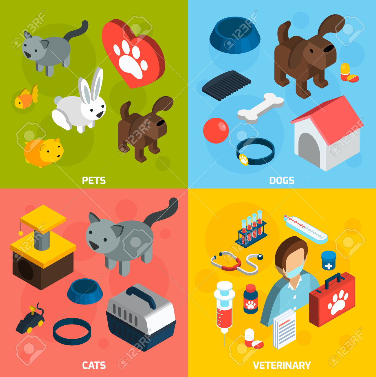 6,045 Veterinary Clinic Stock Vector Illustration And Royalty Free.