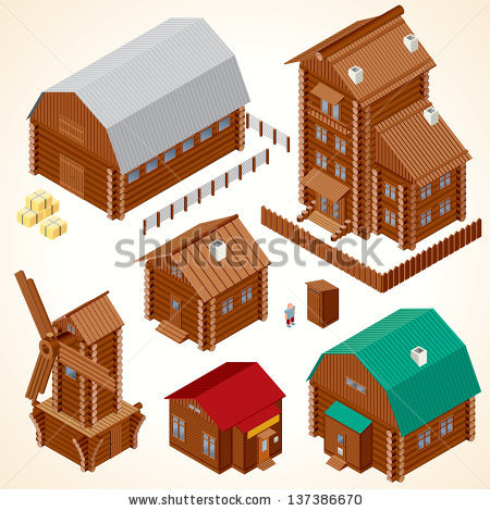 Isometric Clip Art Page 1.