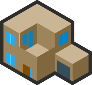 Isometric House Clip Art at Clker.com.